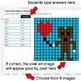 Valentine's Day - Convert Percents to Decimals - Google Sheets Pixel Art