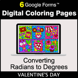 Valentine's Day: Converting Radians to Degrees - Digital C