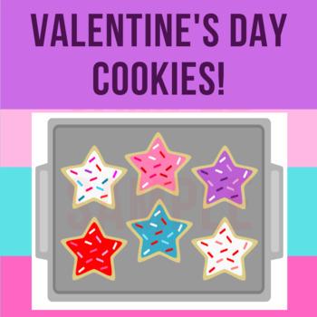 Valentine's Day Cookies | Incentive • Reward • | Classroom, VIPKid, Centers