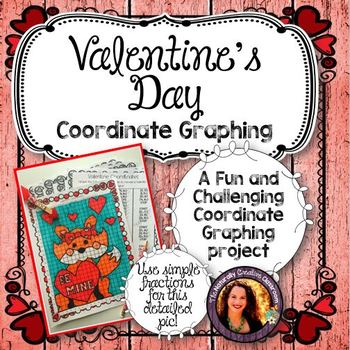 Valentine's Day Coordinate Graphing