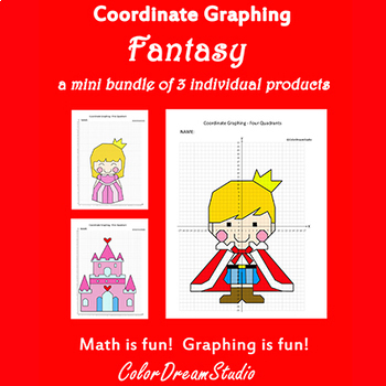 Valentine's Day Coordinate Graphing Picture:Valentine's Day Bundlle 6 in 1