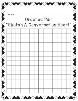 Valentine's Day Coordinate Grid Activity