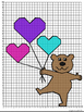 """Valentine's Day Coordinate Mystery Grid """"Fly Away"""""""