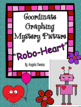 "Valentine's Day Coordinate Mystery Grid ""Robo-Heart"""