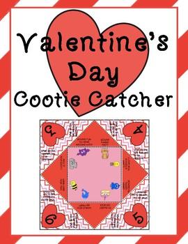 Valentine's Day Cootie Catcher