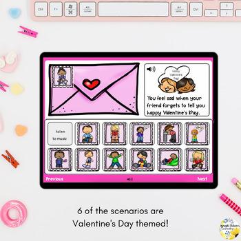 Valentine's Day Coping Strategies Digital Activity