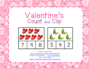Valentine's Day Count 1-10
