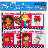 Valentine's Day Count And Draw Adapted Books Bundle