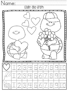 Valentine's Day Count and Graph