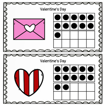 Valentine's Day Math Activity: Count the Room 11-20