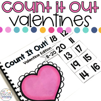 Valentine's Day Count it Out Adapted Book