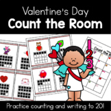 Valentine's Day Count the Room | 1 - 20