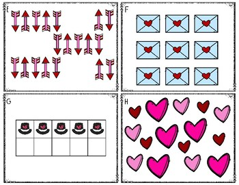 Valentine's Day Count the Room 1-20