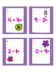 Valentine's Day Count the Room- Addition and Subtraction Facts