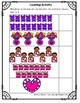 Valentine's Day Counting 1-20 Math Worksheets