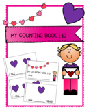 Valentine's Day Counting Book 1-10