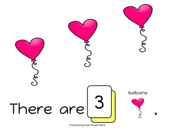 Valentine's Day Counting Books (Adapted Books)