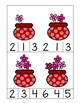 Valentine's Day Counting Cards 1 - 10
