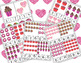 Valentine's Day Counting Cards for Preschool Math Center