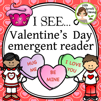 Valentine's Day Emergent Reader (Counting 1-10)