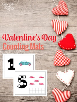 Valentine's Day Counting Mats (1-10)