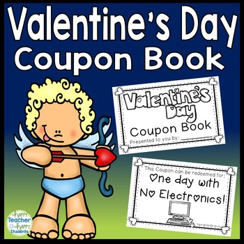 Valentine's Day Coupon Book: 12 Coupons  (A FUN No-Prep Gift for Parents)