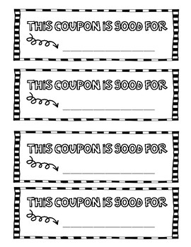 Valentine's Day Coupon Book