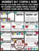 Valentine's Coupons Book Gifts EDITABLE