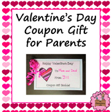 Valentine's Day Coupon Gift for Parents