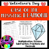 Valentine's Day Crack the Code: Case of the Missing Diamond