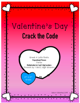 Valentine's Day Crack the Code (Escape Room/Breakout Style Game)