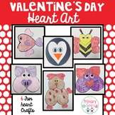 Valentine's Day Crafts/activites with hearts