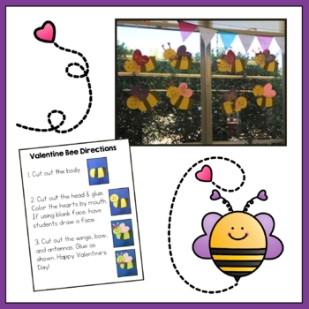 Valentine's Day Craft - Bee Mine