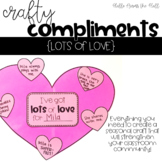 Valentine's Day Craft {Crafty Compliments February} Heart Craft