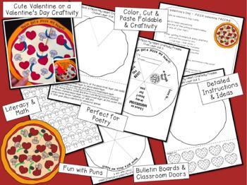 Valentine's Day Craft Freebie - Pizza Valentine