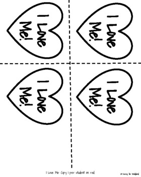 Valentine's Day Craft: I Love Me