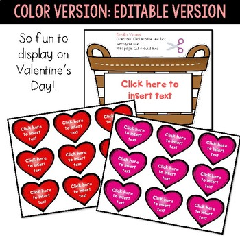 Valentine's Day Craft - Love Basket Craft