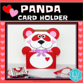 Valentine's Day Craft - Panda Card Holder
