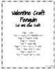 Valentine's Day Craft: Penguin