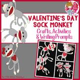 Valentine's Day Craft - Sock Monkey