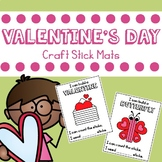Valentine's Day Craft Stick Mats