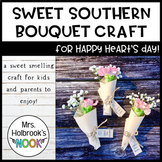 Valentine's Day Craft - Sweet Southern Bouquet