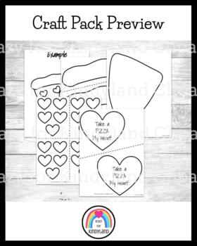 Valentine's Day Craft: Take a Pizza My Heart