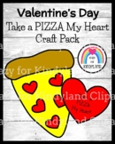 Valentine's Day Craft for Kindergarten: Take a Pizza My Heart