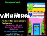 Valentine's Day Craft  ::  Valentines Day Mailbox  ::  Valentine Card Pouch