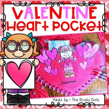 Valentine's Day Craft- Valentine Cards Pocket Holder