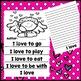 Valentine's Day Writing Activity Craft