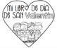 Valentine's Day Craft/ Writing Book in Spanish