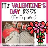 Valentine's Day Craft/ Writing Book in Spanish
