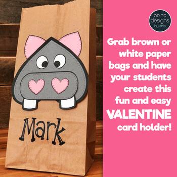 Valentine's Day Craft and Card Holder BUNDLE